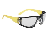 portwest ps32 safety glasses wrap around polycarbonate
