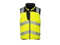 portwest pw374 hi vis reversible vest insulated