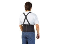 portwest pw80 gallery back brace polyester latex