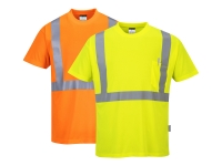 portwest s190or group hi vis pocket t shirt