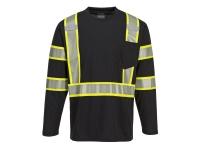 portwest s346 iona plus long sleeve t shirt