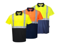 portwest s479group2 hi vis two tone polo