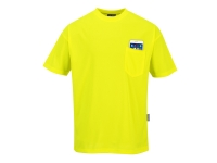 portwest s578 short sleeve hi vis t shirt