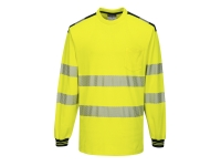 portwest t185 t shirt reflective long sleeve heat set