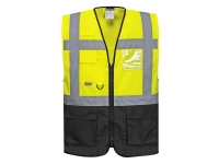 portwest uc476 hi vis reflective safety vest warsaw