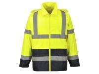 portwest uh443 hi vis classic contrast rain jacket
