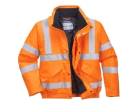 portwest urt32 waterproof hi vis bomber jacket