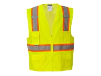 portwest us372yl lightweight hi vis safety vest