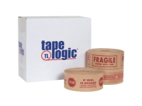 Tape Logic Pre-Printed Reinforced Water Activated Tape
