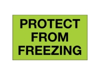 Protect From Freezing Green