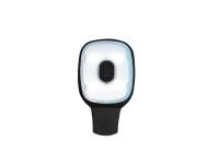 PORTWEST Rechargeable Portable LED Light Clip - OS - Black