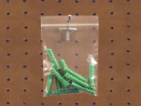 Pack Kontrol Reclosable Poly Bags with Hang Hole - 2 Mil - 2
