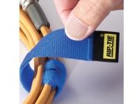 Velcro fastener type riptie strap