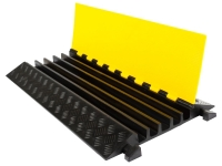 5 Channel  rubber heavy duty cable protector