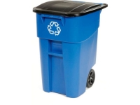 Rubbermaid BRUTE Recycling Container Bin with Wheels - 50 Gallon