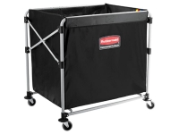 Rubbermaid Collapsible Basket Truck 8 Gallon