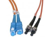 sc st multimode duplex fiber optic cable