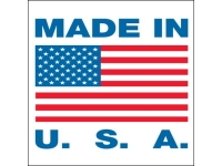 Made in USA Shipping Labels
