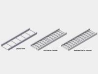 snake tray aluminum ladder tray