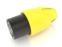 Furrion powersmart marine safety yellow 30A female assembly connector yellow, sp-f30fmp-sy