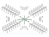 st cm 0303 3x3 cbl tray intersection