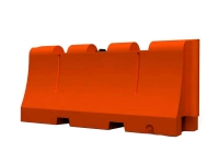 Safety barrier SB-3206-70, orange