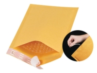 Pack Kontrol Kraft Bubble Envelope Mailers With Tear Strip