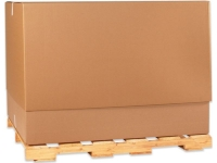 telescoping gaylord boxes containers corrugated