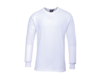 PORTWEST Thermal Long Sleeve T-Shirt - M - White
