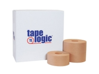 Tape Logicᅠ6800 Price Saver Reinforced Water Activated Tape - 70mm x 375' - Kraft - 8 Rolls/Case
