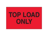 Top Load Only Red