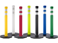 Dome top Traffic Post Delineator, All Colors, 42
