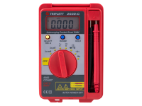 Triplett pocket sized digital multimeter model 2030, tl-2030