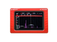 triplett wifi hound spectrum analyser in use view