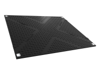 Tufftrax heavy duty road mat, black, Standard