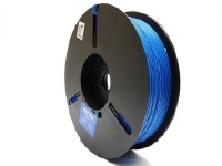 paper twist tie material spool in blue