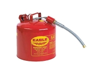 u2-51-s eagle safety can type 2 gas can with spout 5 gallon red