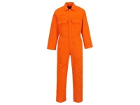 Durable orange safety coverall