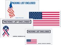usa packing list envelopes