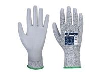 PORTWEST Vending PU Palm LR Cut Gloves - M - Gray