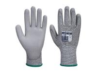 PORTWEST Vending PU Palm MR Cut Gloves - XS - Gray
