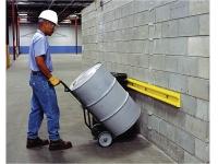 Wall impact protector, yellow