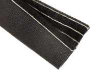 Techflex black weld wrap braided sleeving for welding hose protection sleeving