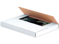 white easy fold mailers boxes