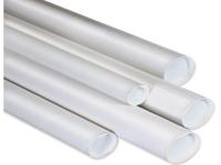 white mailer tubes