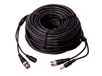 roll of siamese cable, black