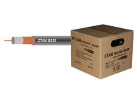 WI-RG59 coaxial cable, black