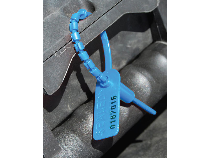 b255b05f49f4 ... Serial Numbered Flag Zip Ties. Pull Tight identification ties, multiple  colors · Blue Pull tight seal tie used for security purposes