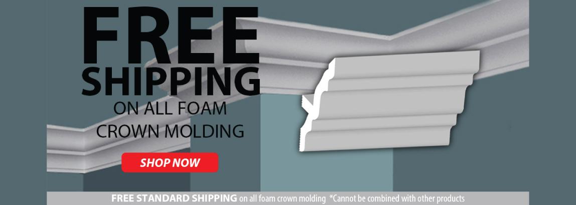 foam crown molding cabletiesandmore